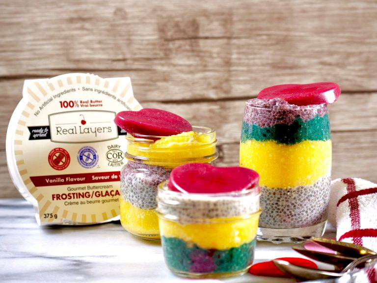 Real Layers Chia Pudding