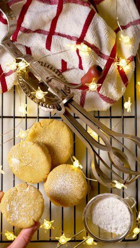 Gluten Free Brown butter corn cookies