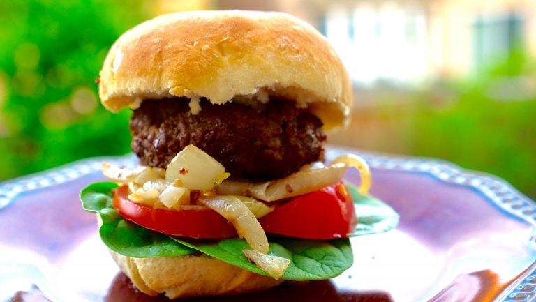 homemade burger bun recipe