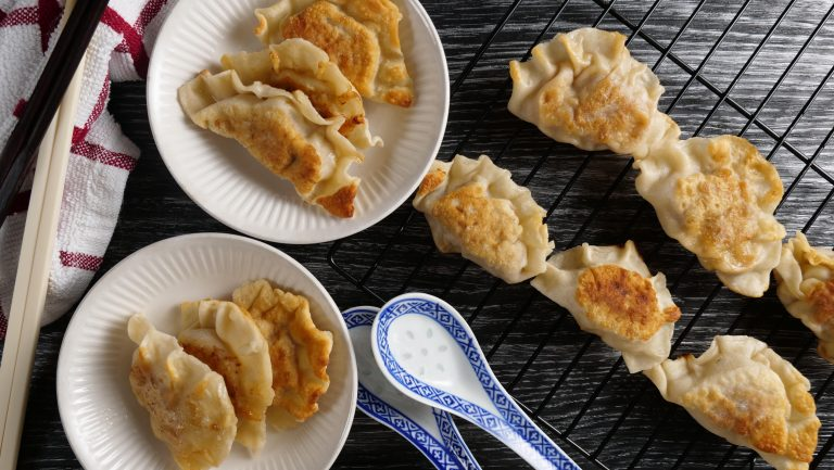 Homemade chinese dumplings