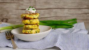 Keto & Gluten Free Zucchini Fritters