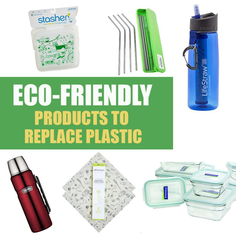 Eco friendly products to replace plastic