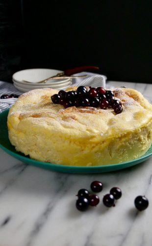 Homemade Japanese Cheesecake