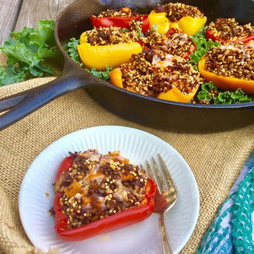 easy stuffed peppers
