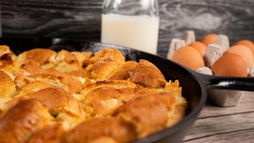 Fast & Easy Bread Pudding Recipe