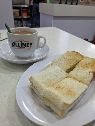 Killiney Kaya Toast Singapore