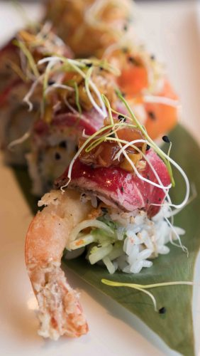 sushi rolls from august 8