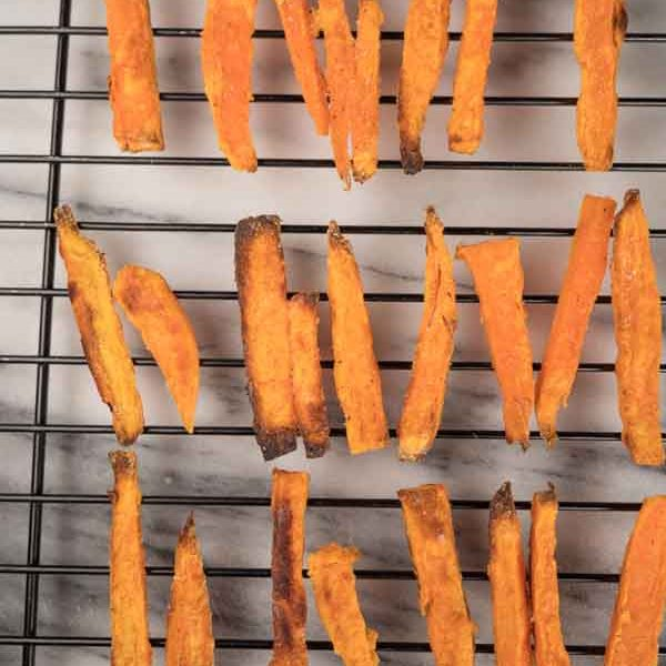 best crispy baked sweet potato fries