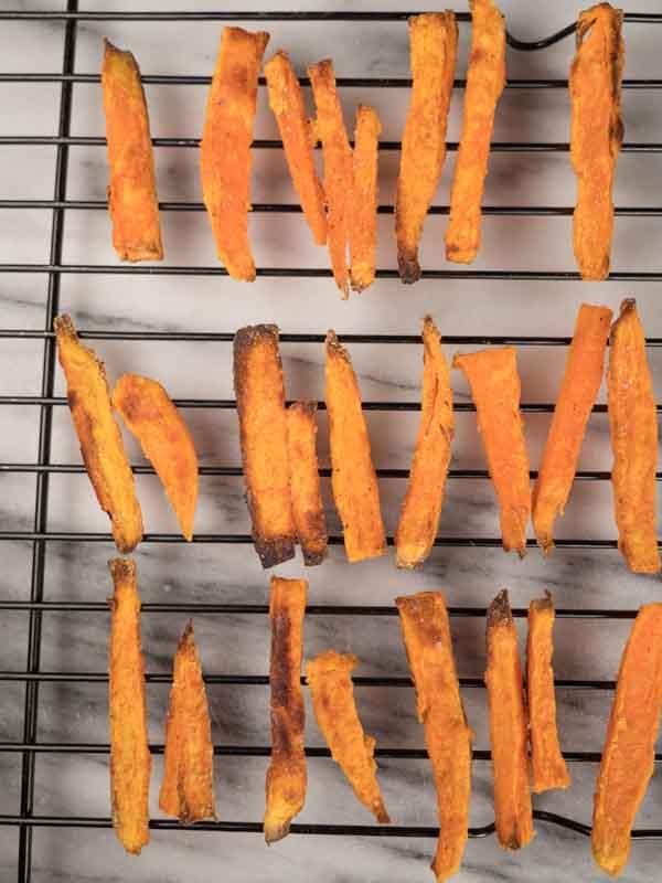 best crispy baked sweet potato fries