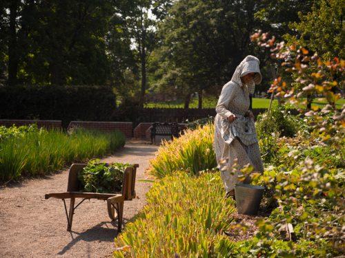 Kitchen Garden at Dundurn Castle