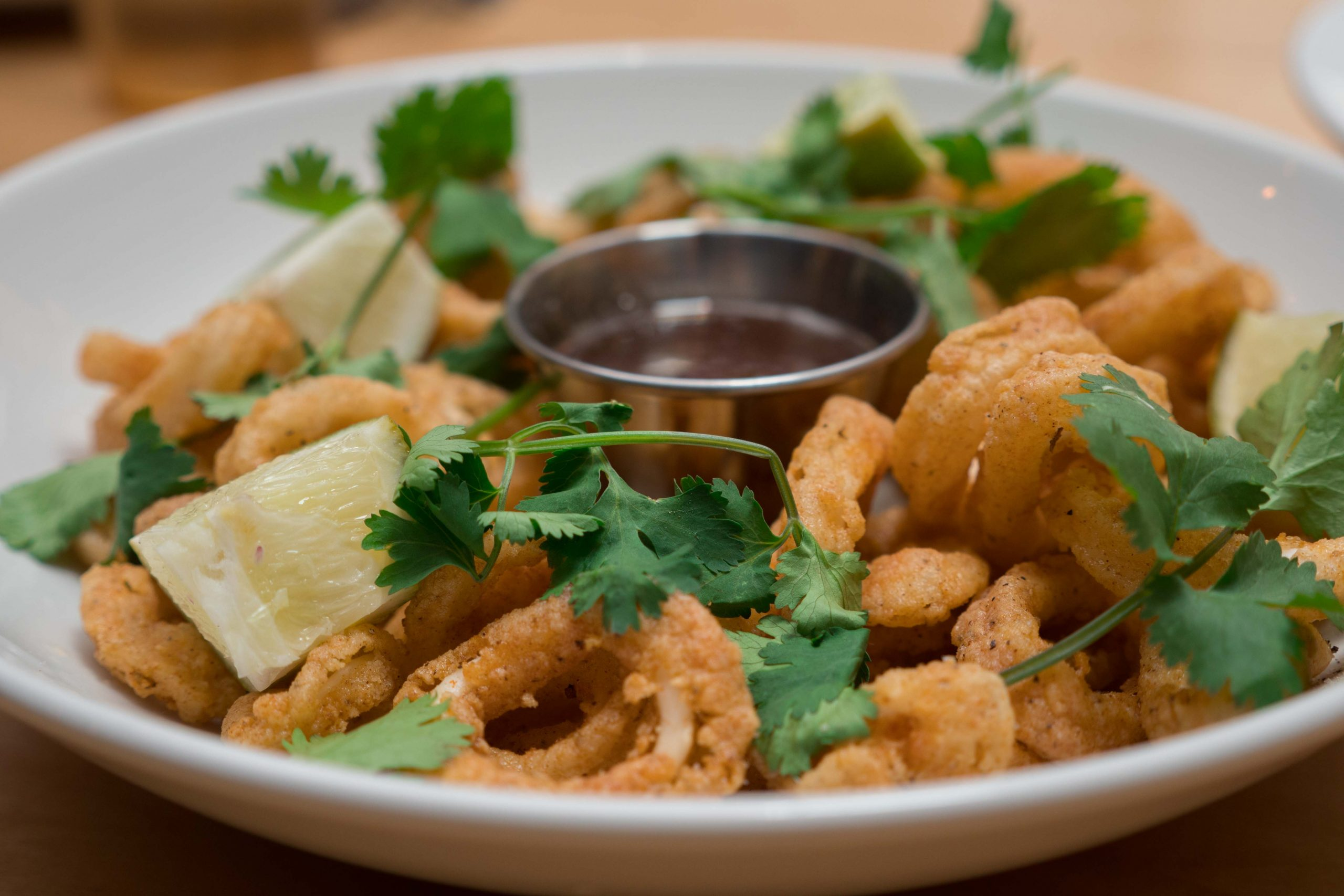 Calamari from Collins Brewhouse
