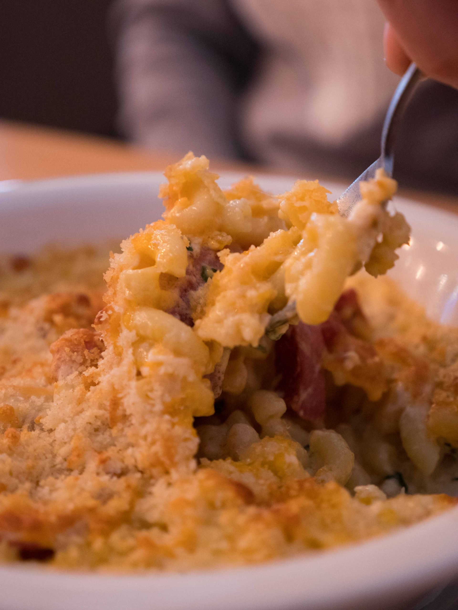 Mac n cheese from collins brewhouse