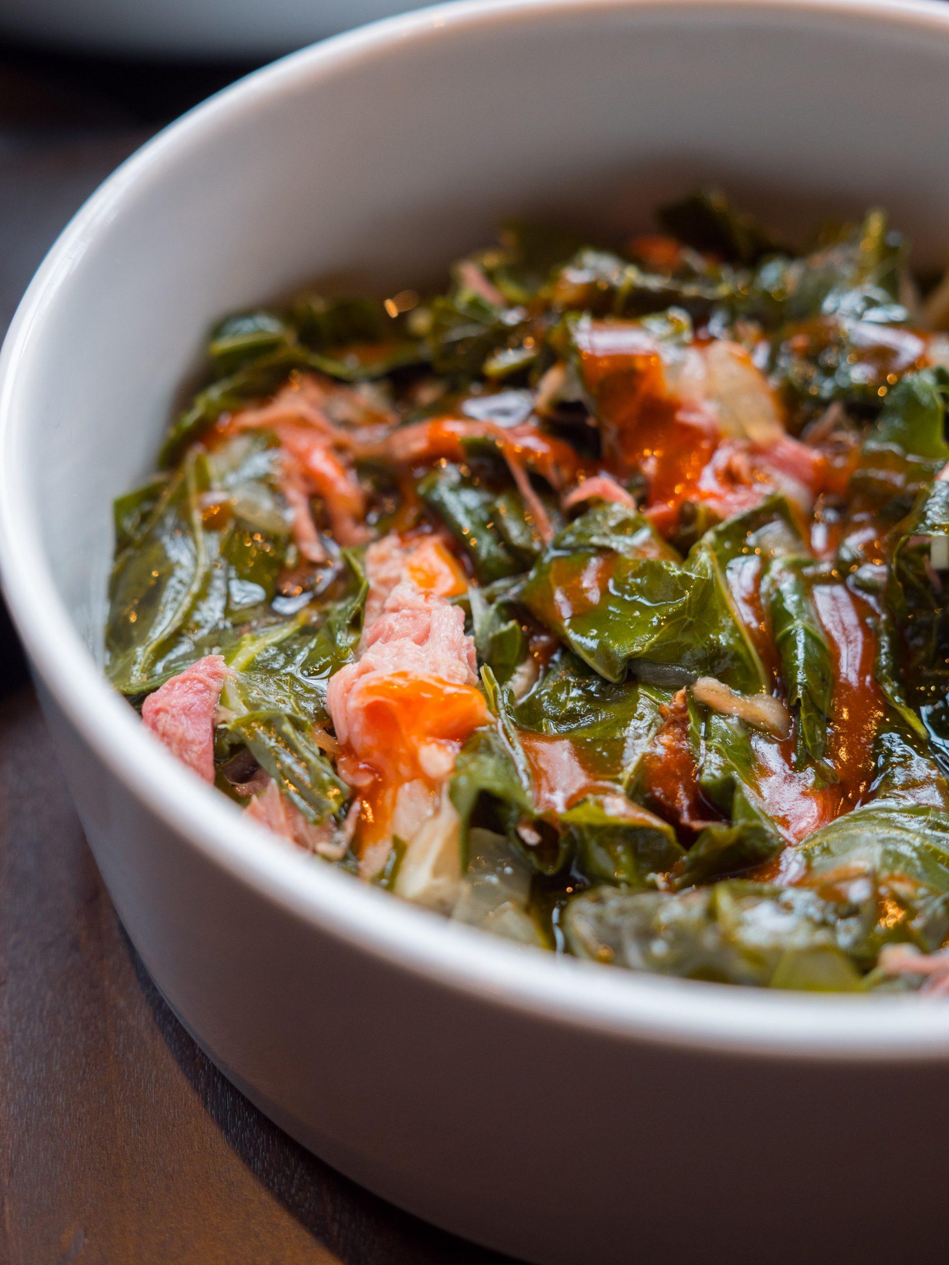 Uncle Ray's menu - collard greens