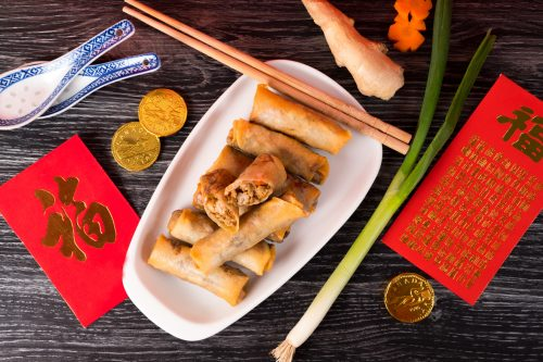 Chinese new year spring roll recipe