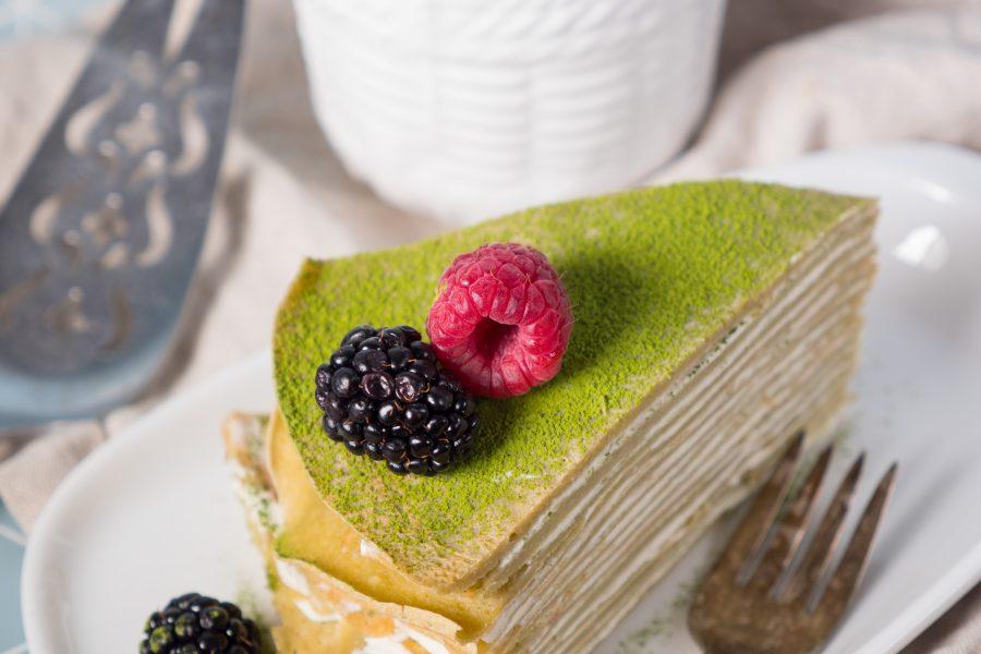 Rishi Matcha Crepe Cake