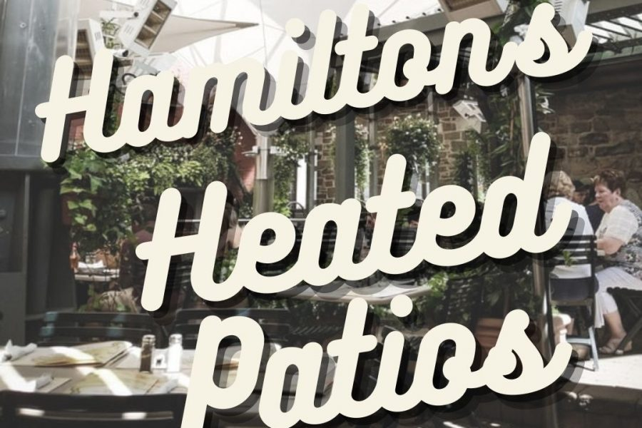 hamilton heated patios
