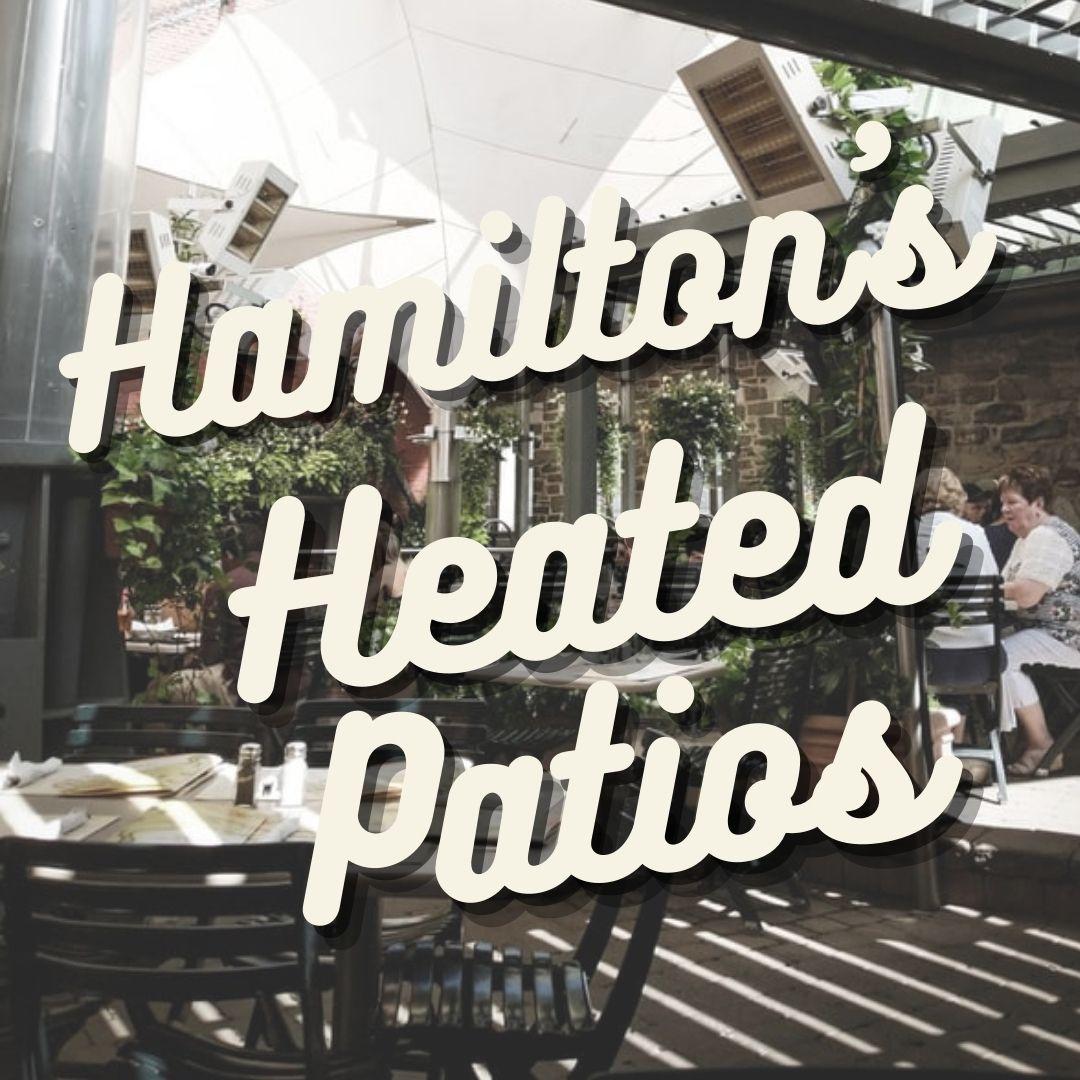hamilton heated patios